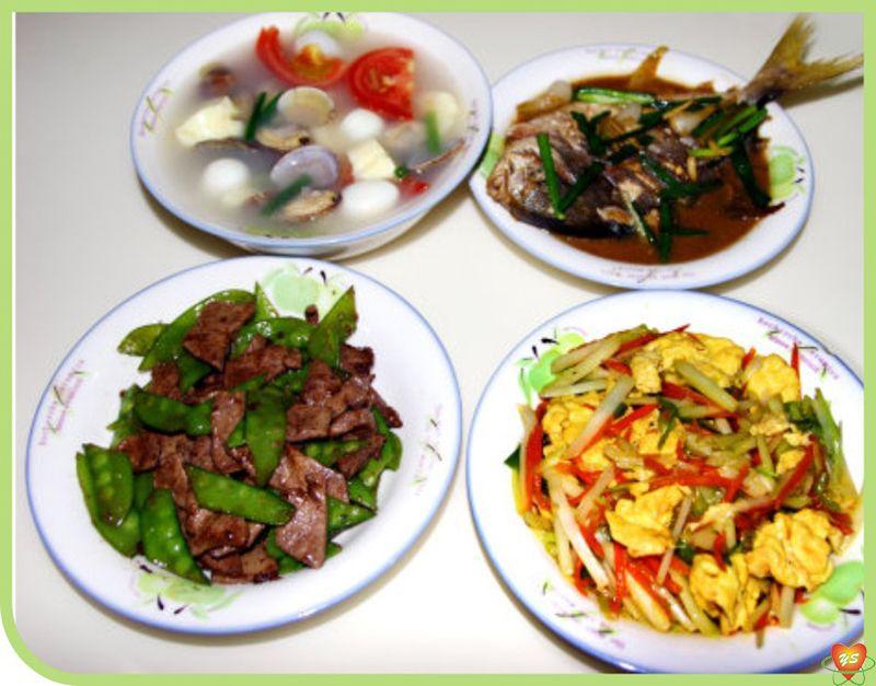食堂承包-特色菜:三荤菜一汤