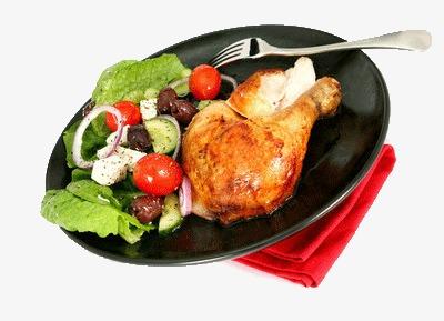 食堂承包-特色菜-烤雞腿